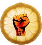 """The official logo of the """"Lemonade Revolt"""" - we kinda like it."""