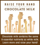 Click to learn why six leading health professional organizations say chocolate milk is good for kids health.