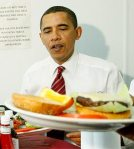 Hey, Michelle! If cheeseburgers are good enough for Barry, then they're good enough for the rest of us!