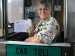 CLARIFIED: There's nothing to see at Florida's toll booths except those hideous shirts employees are forced to wear.