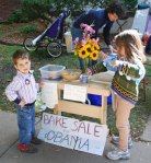 Don't let the Obamas monopolize bake sales!